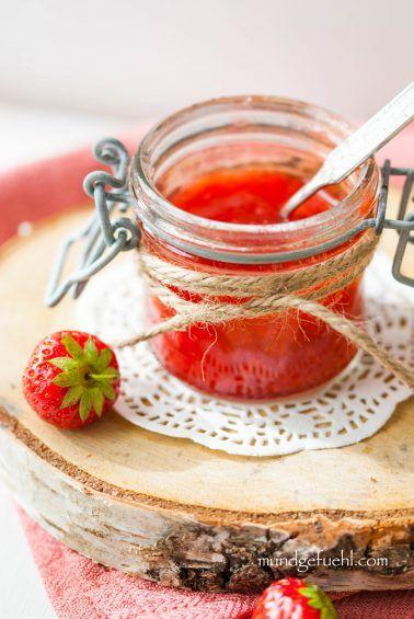 Dich koch ich auch noch ein – Erdbeermarmelade
