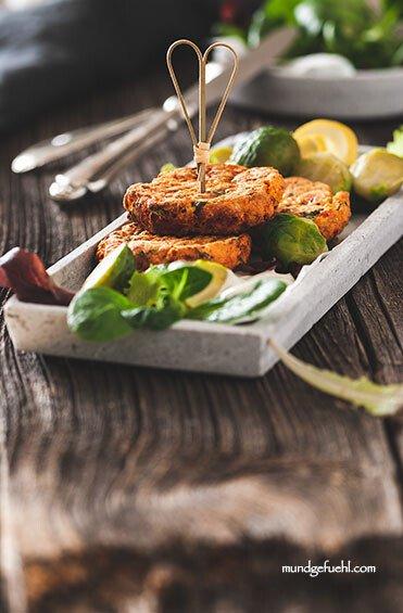 Forellenlaibchen mit Kohlsprossen und leichter Joghurt-Sauce-Tartare