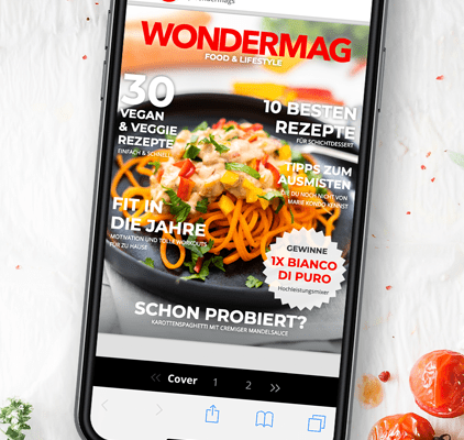 Blogger Special bei Wondermags