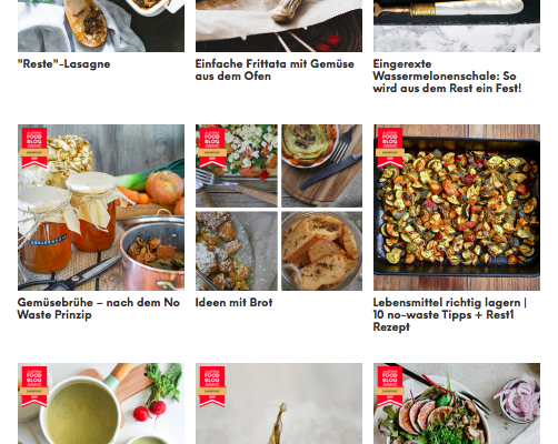 Auf der Shortlist beim Austria Food Blog Award