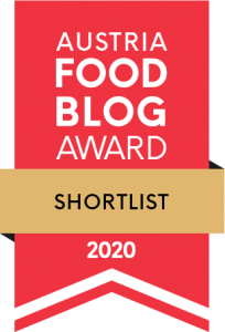Austria Food Blog Award Shortlist 2020 Logo