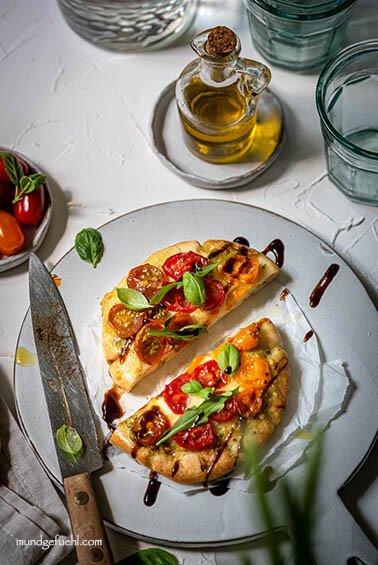Mediterranes Pita Brot schnell & einfach